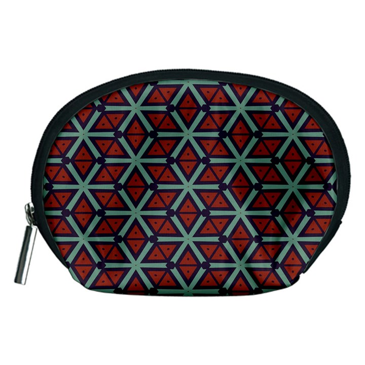 Cubes pattern abstract design Accessory Pouch (Medium)