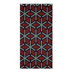 Cubes Pattern Abstract Design Shower Curtain 36  X 72  (stall) by LalyLauraFLM
