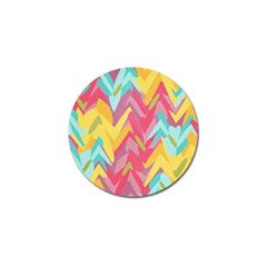 Paint Strokes Abstract Design Golf Ball Marker (10 Pack) by LalyLauraFLM