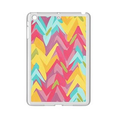 Paint Strokes Abstract Design Apple Ipad Mini 2 Case (white) by LalyLauraFLM