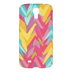 Paint Strokes Abstract Design Samsung Galaxy S4 I9500/i9505 Hardshell Case by LalyLauraFLM