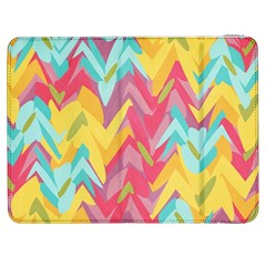 Paint Strokes Abstract Design Samsung Galaxy Tab 7  P1000 Flip Case by LalyLauraFLM