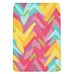 Paint Strokes Abstract Design Removable Flap Cover (small) by LalyLauraFLM