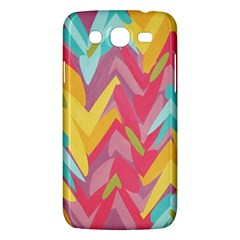 Paint Strokes Abstract Design Samsung Galaxy Mega 5 8 I9152 Hardshell Case  by LalyLauraFLM