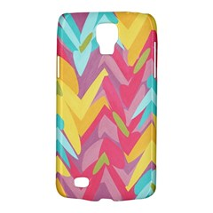 Paint Strokes Abstract Design Samsung Galaxy S4 Active (i9295) Hardshell Case by LalyLauraFLM