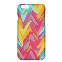 Paint Strokes Abstract Design Apple Iphone 6 Plus Hardshell Case by LalyLauraFLM