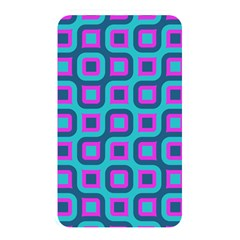 Blue Purple Squares Pattern Memory Card Reader (rectangular) by LalyLauraFLM