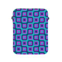 Blue Purple Squares Pattern Apple Ipad 2/3/4 Protective Soft Case by LalyLauraFLM