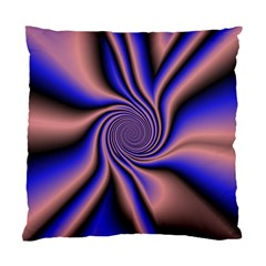 Purple Blue Swirl Standard Cushion Case (two Sides) by LalyLauraFLM