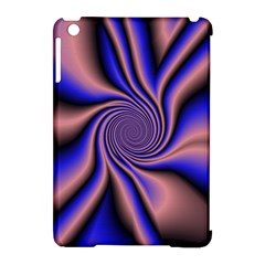 Purple Blue Swirl Apple Ipad Mini Hardshell Case (compatible With Smart Cover) by LalyLauraFLM