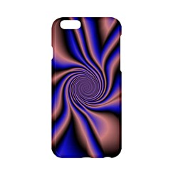 Purple Blue Swirl Apple Iphone 6 Hardshell Case by LalyLauraFLM