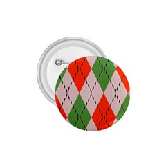 Argyle Pattern Abstract Design 1 75  Button by LalyLauraFLM