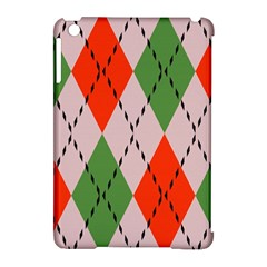 Argyle Pattern Abstract Design Apple Ipad Mini Hardshell Case (compatible With Smart Cover) by LalyLauraFLM