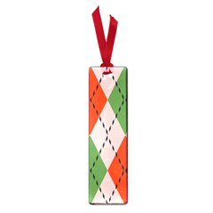 Argyle Pattern Abstract Design Small Book Mark by LalyLauraFLM