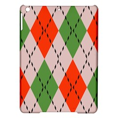 Argyle Pattern Abstract Design Apple Ipad Air Hardshell Case by LalyLauraFLM