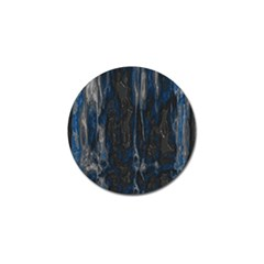 Blue Black Texture Golf Ball Marker (4 Pack) by LalyLauraFLM