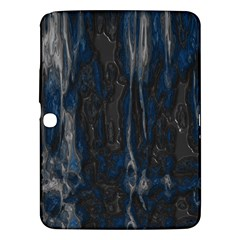 Blue Black Texture Samsung Galaxy Tab 3 (10 1 ) P5200 Hardshell Case  by LalyLauraFLM