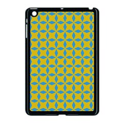 Blue Diamonds Pattern Apple Ipad Mini Case (black) by LalyLauraFLM