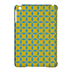 Blue Diamonds Pattern Apple Ipad Mini Hardshell Case (compatible With Smart Cover) by LalyLauraFLM