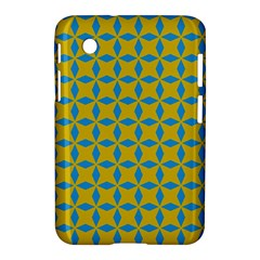 Blue Diamonds Pattern Samsung Galaxy Tab 2 (7 ) P3100 Hardshell Case  by LalyLauraFLM