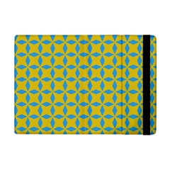 Blue Diamonds Pattern Apple Ipad Mini 2 Flip Case by LalyLauraFLM
