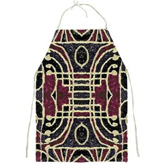 Tribal Style Ornate Grunge Pattern  Apron by dflcprints