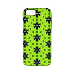 Blue Flowers Pattern Apple Iphone 5 Classic Hardshell Case (pc+silicone) by LalyLauraFLM
