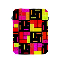Squares And Rectangles Apple Ipad 2/3/4 Protective Soft Case by LalyLauraFLM