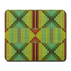 Tribal Shapes Large Mousepad by LalyLauraFLM