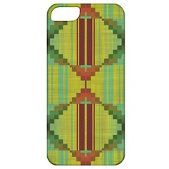 Tribal Shapes Apple Iphone 5 Classic Hardshell Case by LalyLauraFLM