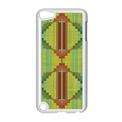 Tribal Shapes Apple Ipod Touch 5 Case (white) by LalyLauraFLM