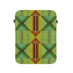 Tribal Shapes Apple Ipad 2/3/4 Protective Soft Case by LalyLauraFLM