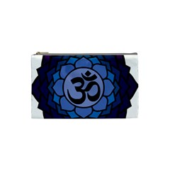 Ohm Lotus 01 Cosmetic Bag (small) by oddzodd