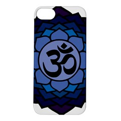 Ohm Lotus 01 Apple Iphone 5s Hardshell Case by oddzodd