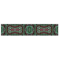 Tribal Ornament Pattern  Flano Scarf (small) by dflcprintsclothing