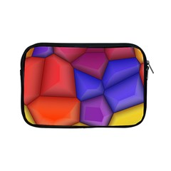3d Colorful Shapes Apple Ipad Mini Zipper Case by LalyLauraFLM