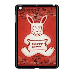 Cute Bunny Happy Easter Drawing Illustration Design Apple Ipad Mini Case (black) by dflcprints