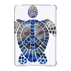 Peace Turtle Apple Ipad Mini Hardshell Case (compatible With Smart Cover) by oddzodd