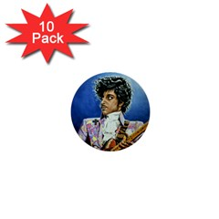 The Purple Rain Tour 1  Mini Button (10 Pack) by retz