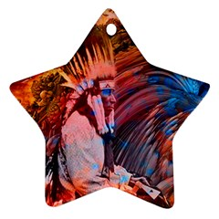 Astral Dreamtime Star Ornament by icarusismartdesigns