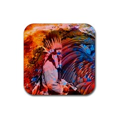 Astral Dreamtime Drink Coaster (square) by icarusismartdesigns