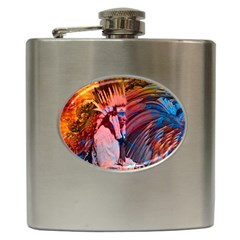 Astral Dreamtime Hip Flask by icarusismartdesigns