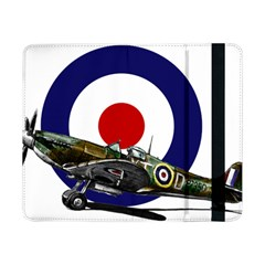Spitfire And Roundel Samsung Galaxy Tab Pro 8 4  Flip Case by TheManCave
