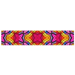 Multicolored Abstract Print Flano Scarf (small) by dflcprintsclothing