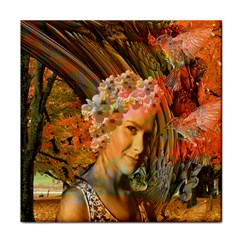Autumn Ceramic Tile by icarusismartdesigns