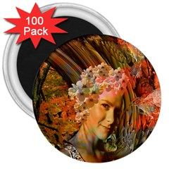 Autumn 3  Button Magnet (100 Pack) by icarusismartdesigns