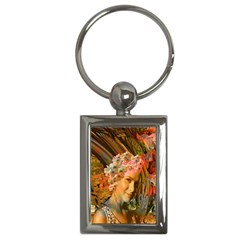 Autumn Key Chain (rectangle) by icarusismartdesigns
