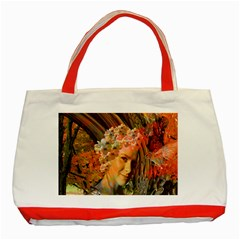 Autumn Classic Tote Bag (red) by icarusismartdesigns