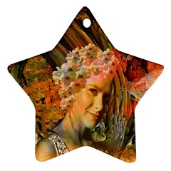 Autumn Star Ornament (two Sides) by icarusismartdesigns