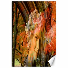 Autumn Canvas 20  X 30  (unframed) by icarusismartdesigns